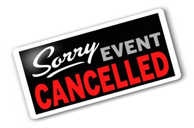 DECEMBER 12 SHOW HAS BEEN CANCELLED