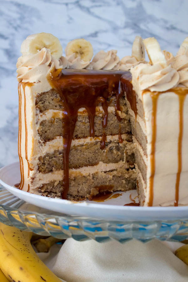 Banana Caramel Layer Cake Recipe Queenslee App 233 Tit