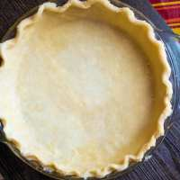 Perfect Pie Crust with and without a Food Processor