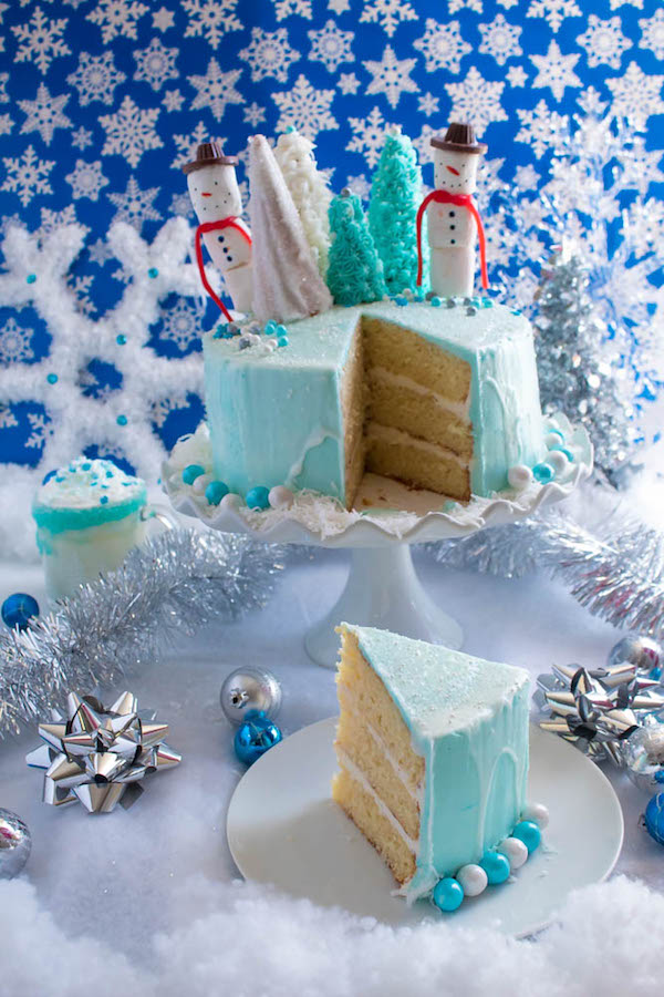 Winter Wonderland Cake Recipe Queenslee App 233 Tit