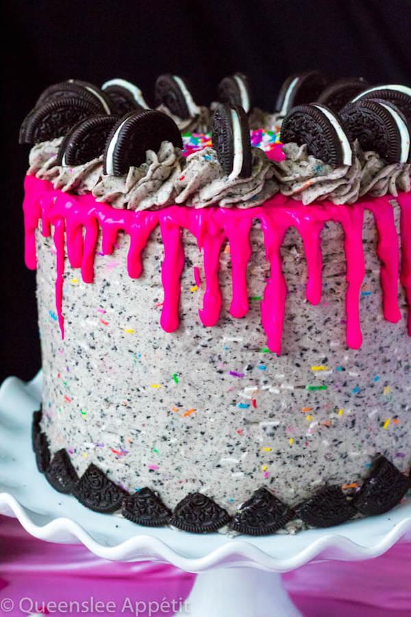 Birthday Cake Oreo Cake Recipe Queenslee Apptit