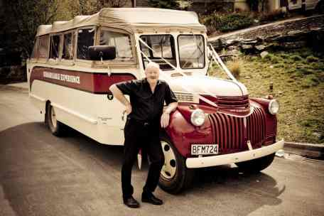 Remarkable Experience vintage Chevrolet convertible buses for wedding transport with owner/driver Neville