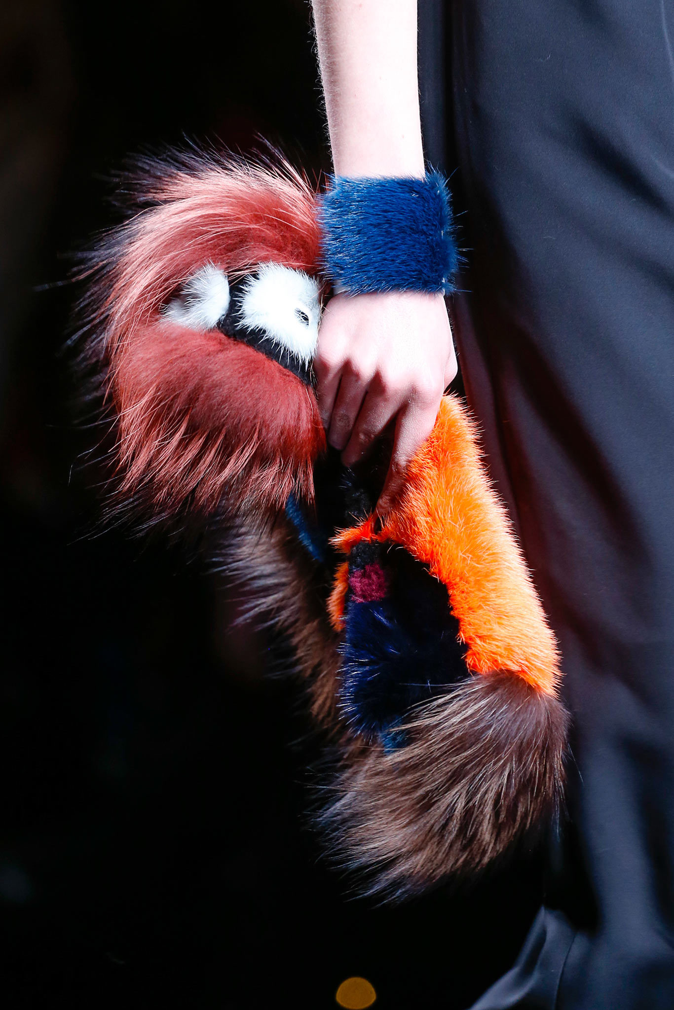 Fall 2013 Fendi fur cuff 3 - styledotcom