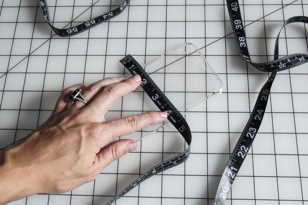 Measure phone case