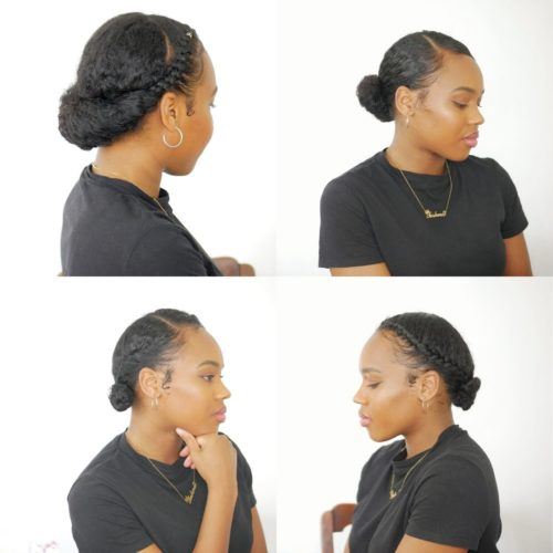 3 Easy Styles On Short Natural Hair How To Style Thursdays