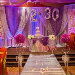 Chair Cover Rental Cost Burlap Sashes Reception Decor Backdrop | Wedding Decorations Toronto, Markham And Mississauga