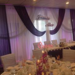 Chair Covers Vaughan High Back Mesh Office With Headrest Angus Glen Golf Club | Queen Wedding Decor