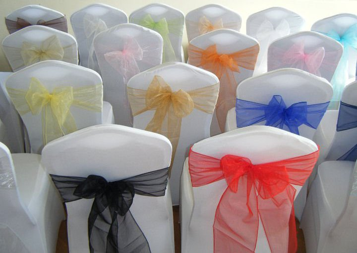 chair covers and bows ebay dining chairs with rollers party event decor rental queen wedding