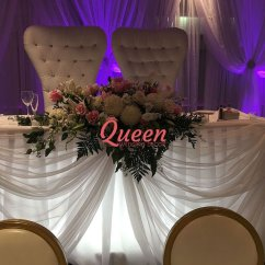 Elite Chair Covers Inc Leather Club Chairs Target Table Decor And Queen Wedding