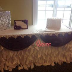 Wedding Chair Covers Toronto Vibrating Baby Table Decor And Decorations