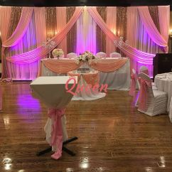 Chair Covers Rental Scarborough Small Outdoor Table And Chairs Reception Decor Backdrop | Wedding Decorations Toronto, Markham Mississauga