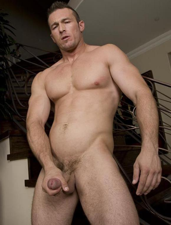 naked male model Randy Blue Devin Draz aka Spence