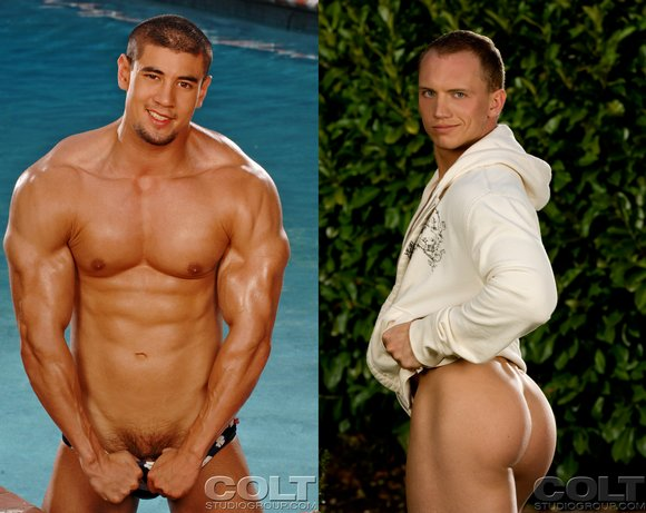 bodybuilder Colt gay porn star Jason Crystal John Magnum
