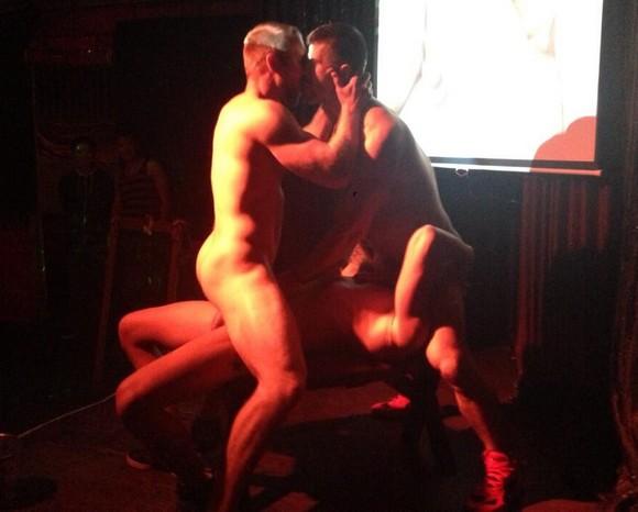 Adam Killian, Vito Gallo  Tom Wolfe Perform Live Sex Show-2106