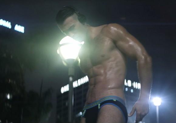 Jarec Wentworth Andrew Christian Underwear Porn Model