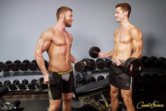 Dawson Quinn Gym Fuck Gay Porn CorbinFisher 1