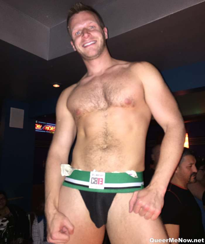 Queer Me Now at CockyBoys Underwear Auction. Christian Owen's Porn Star Party & Falcon's A-Team Grabby Party