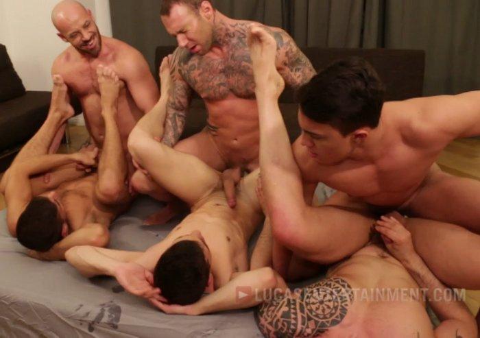 Gay Porn Bareback Orgy Dylan James Max Schutler Isaac Eliad Bruno Fox Joey Pele Josh Milk