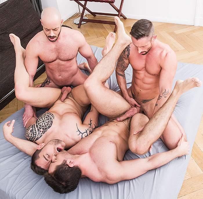 Nick North Bruno Fox Isaac Eliad Patryk Jankowski Joey Pele Gay Porn Orgy