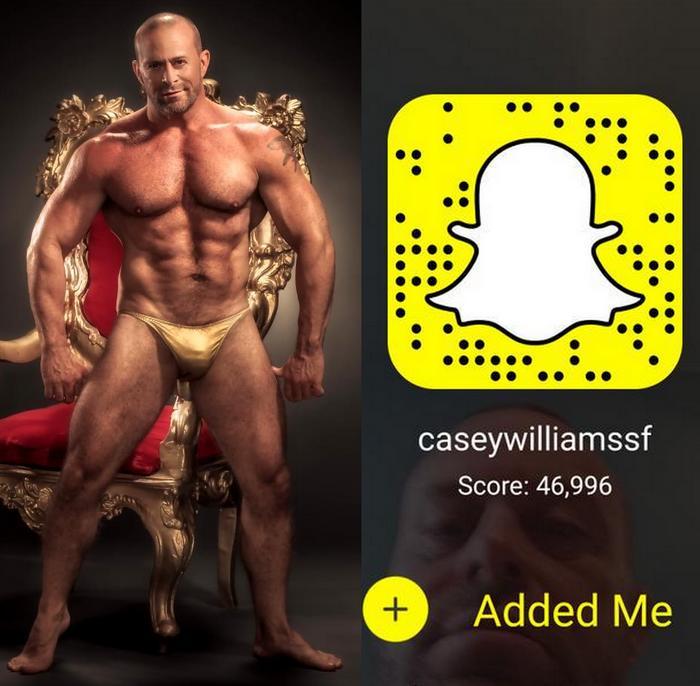 Casey Williams Snapchat Gay Porn