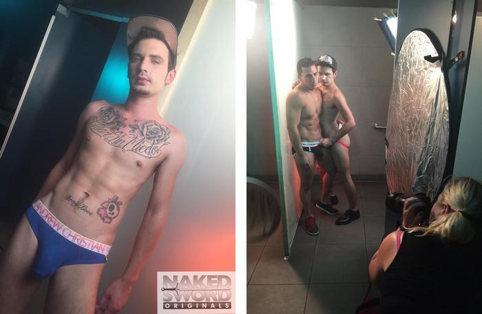 Topher DiMaggio Bray Love Nakedsword FameGame BTS 5