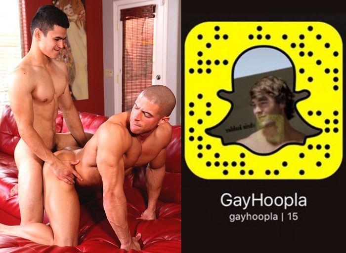 GayHoopla Gay Porn Snapchat Snapcode