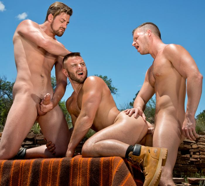 Andrew Stark Brian Bonds Nick Sterling Gay Porn
