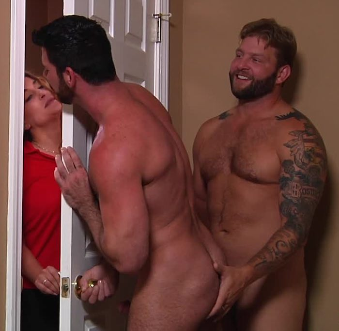 Billy Santoro Colby Jansen Stealth Fuck Gay Porn