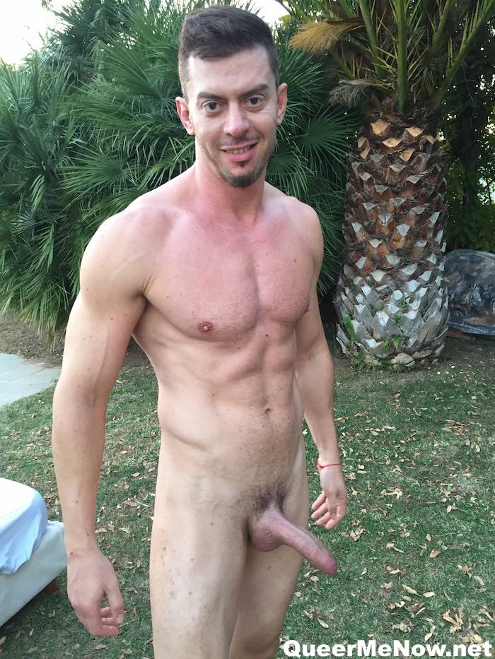 Nico Deen Musclsmoke aka The Guy with Explosive Hands Free Cumshot Shot His 1st Porn Scene for