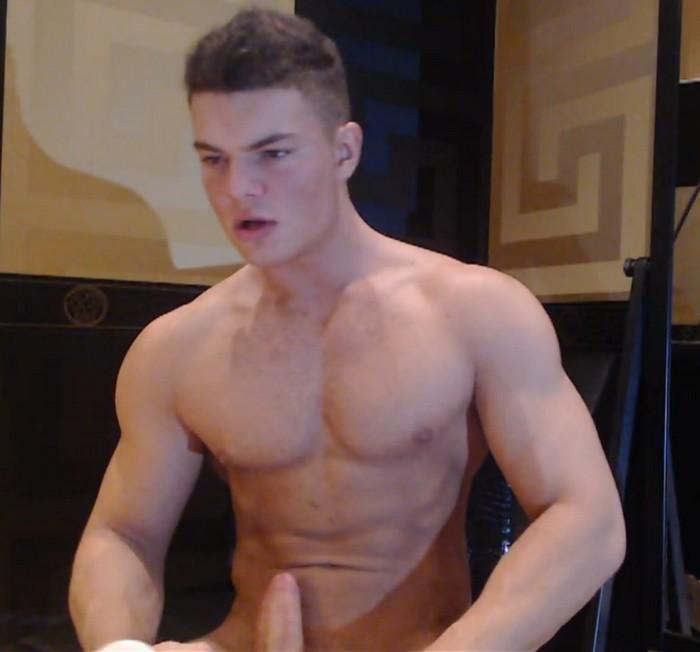 Vincent Maddox Muscle Jock Naked Webcam Model