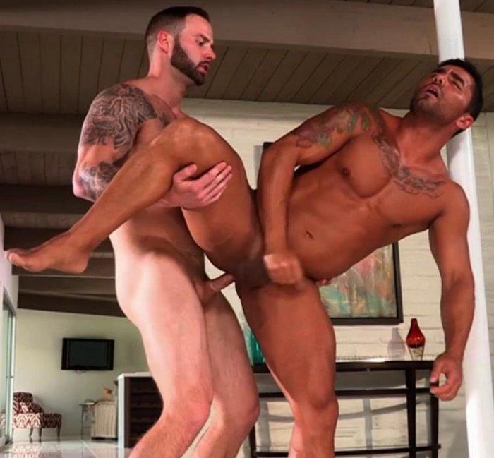 Bruno Bernal Gay Porn Star Chris Bines