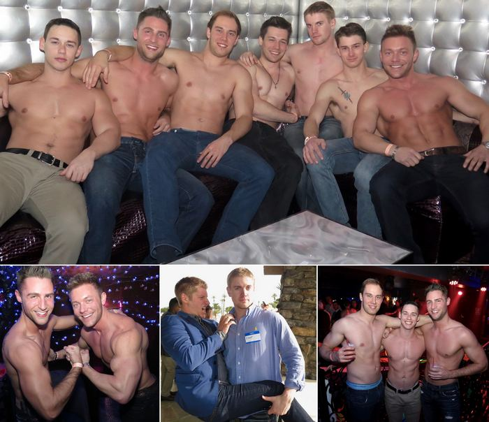 CorbinFisher Gay Porn Stars CF12 Anniversary Party Las Vegas 2016