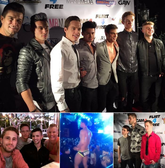 Cybersocket Awards 2016 Gay Porn Stars