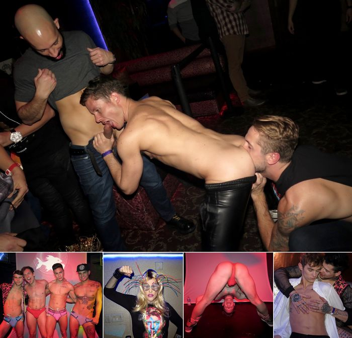 HustlaBall Las Vegas 2016 Gay Porn Stars Opening Party