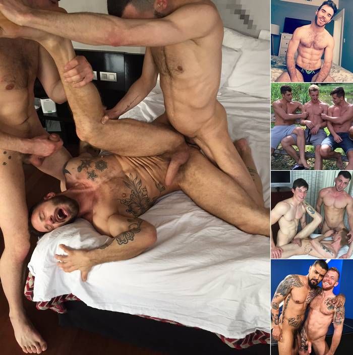 Gay Porn Star Antonio Miracle Matthew Bosch Logan Cage Boomer Banks Jack Vidra