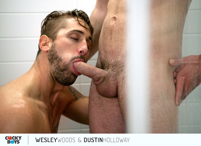 Wesley Woods Gay Porn Star Dustin Holloway CockyBoys 1