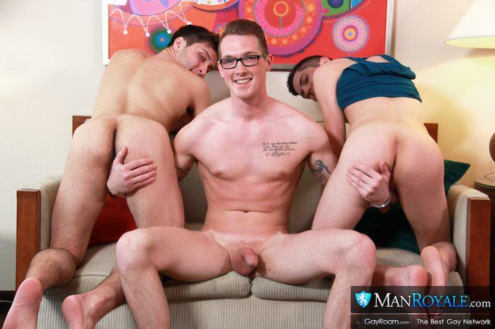 Frat Bros Spring Break Gay Porn Brandon Rivers Jackson Cooper Kyle Ryder 1