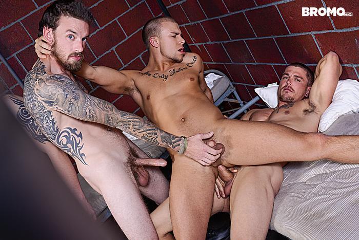Gay Porn Prison Bareback Orgy 7