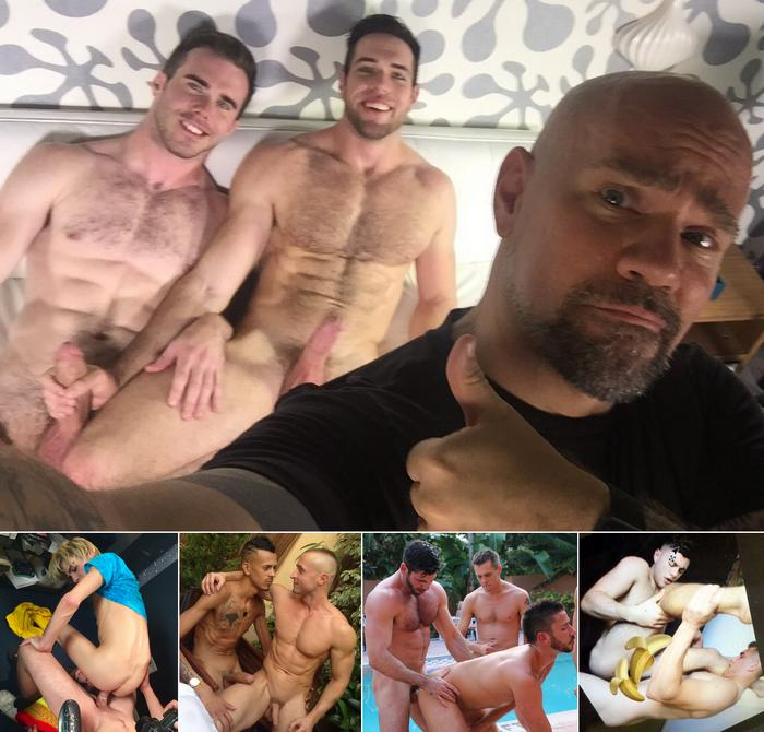 Gay Porn Alex Mecum Matthew Bosch Kyle Ross Billy Santoro Alex Griffen