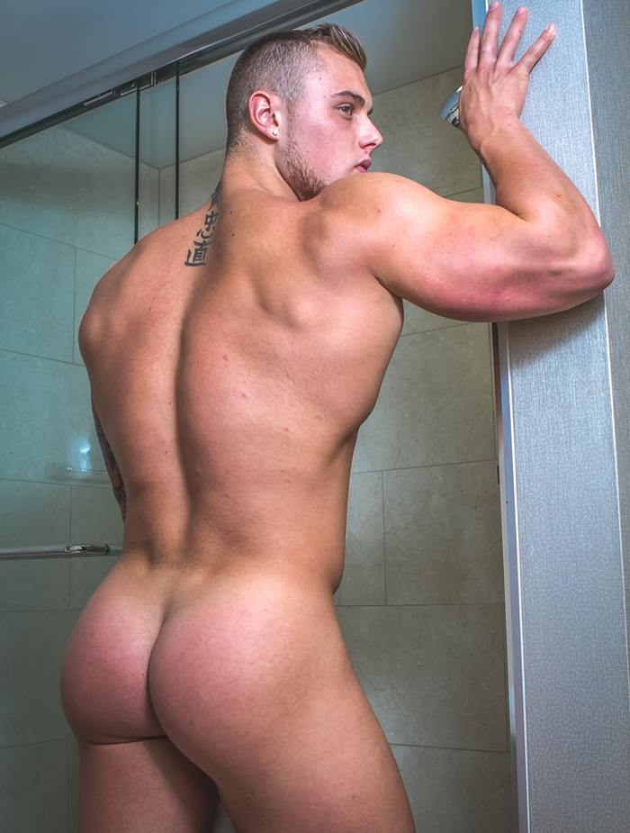 Oliver  Vance Hot Male Strippers Competing For Best Butt-4745