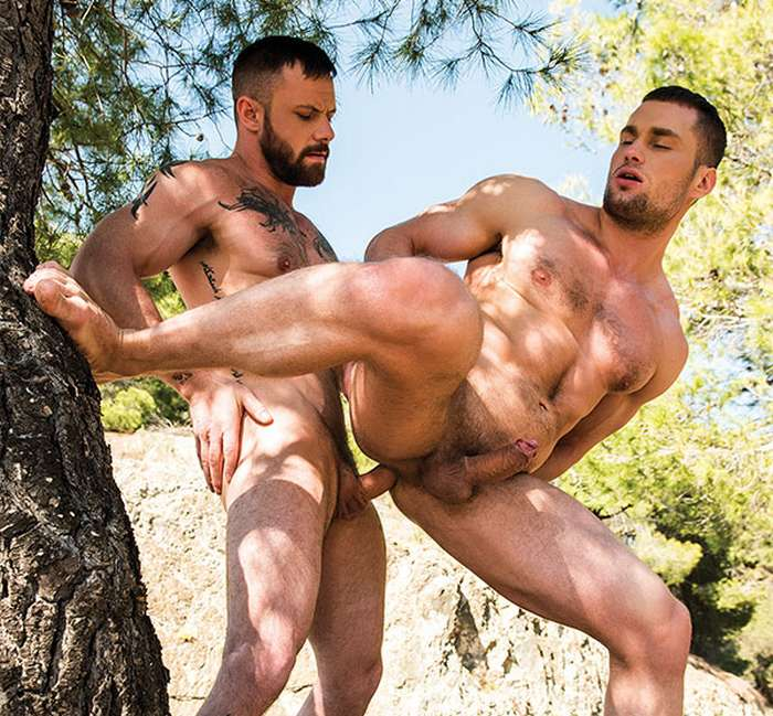 Naked hunks outdoors gay first time hot gay