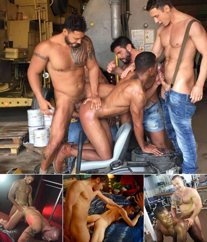 Gay Porn Viktor Rom Alex Kof Mike Maverick Sean Duran Calvin Banks Russ Magnus Damien Brooks