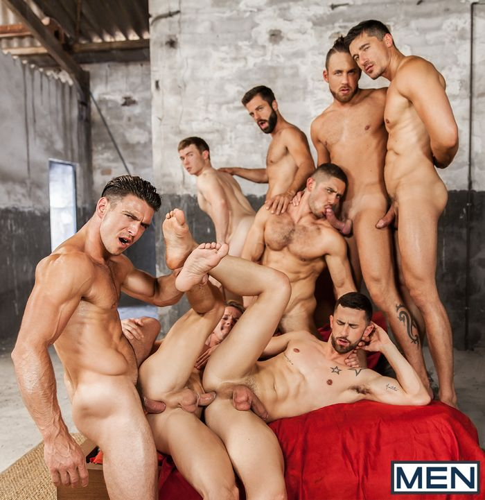Sense8 Gay Porn Parody Orgy Fuckfest Group Sex