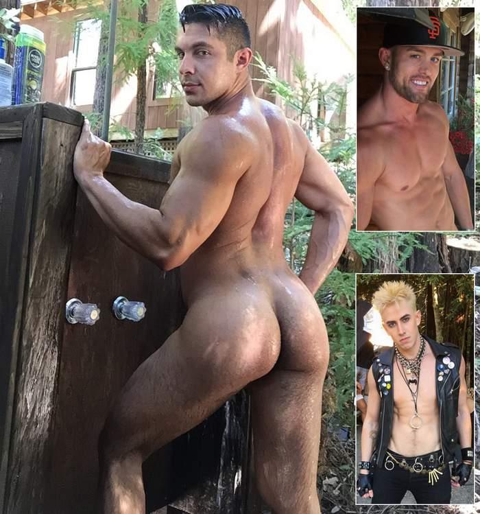 Seth Santoro Gay Porn Star Ryan Rose Jack Hunter Nakedsword ScaredStiff