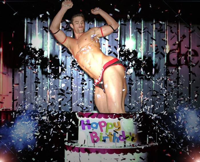 Birthday cake for gay
