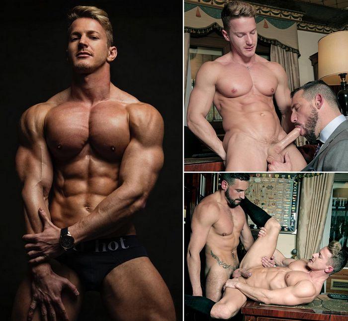 Darius Ferdynand Gay Porn Star Fitness Model Muscle Hunk Enzo Rimenez Menatplay