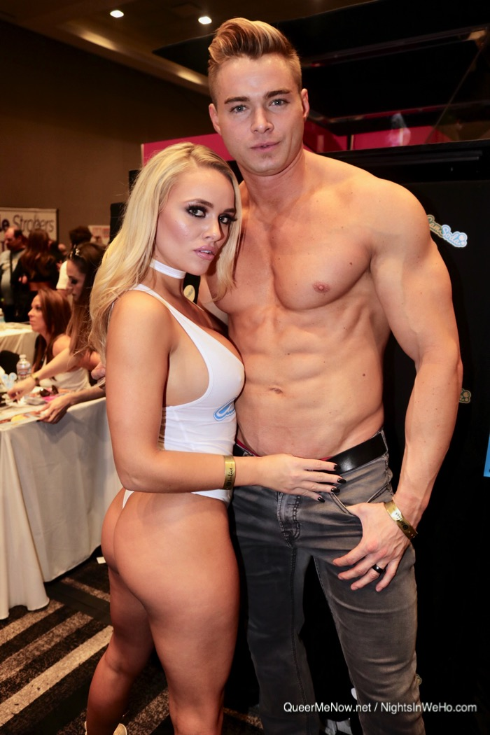 Colin Hart Connor Corbin Fisher Porn Star Alexis Monroe AVN Expo 2017