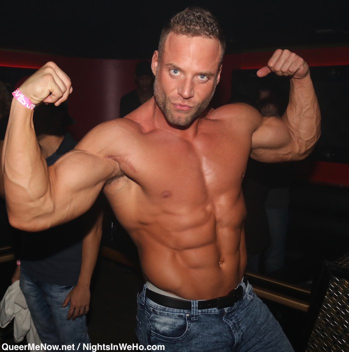 Jack Sean Cody Gay Porn Star Bodybuilder HustlaBall Las Vegas Flair Nightclub