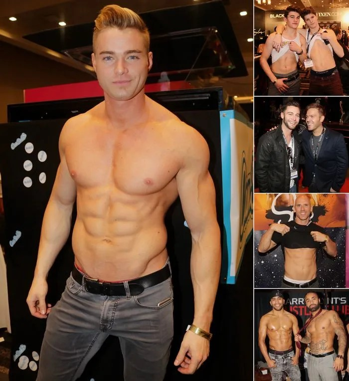 Male Porn Stars AVN Expo 2017 Colin Hart Johnny Sins Seth Gamble Ryan Ryder