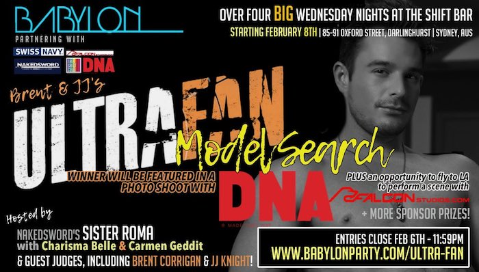 Brent Corrigan Ultra Fan Model Search